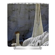 Tower Of Silence 2 Shower Curtain