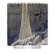 Tower Of Silence 3 Shower Curtain