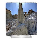 Tower Of Silence Shower Curtain