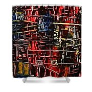 Tower Of Sticks Shower Curtain