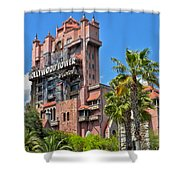 Tower Of Terror Shower Curtain by Thomas Woolworth