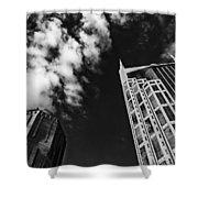 Tower Up Shower Curtain by CJ Schmit