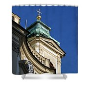 Tower Vienna Austria Shower Curtain