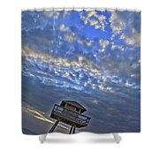 Tower View Shower Curtain
