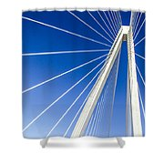 Towering 2 Shower Curtain