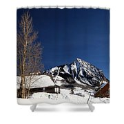 Towering Above Crested Butte Shower Curtain