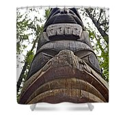 Towering Totem Shower Curtain