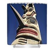 Towering Totem Shower Curtain
