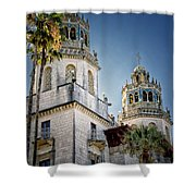 Towers At Hearst Castle - California Shower Curtain