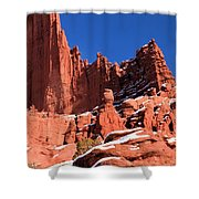 Towers In The Sky Shower Curtain
