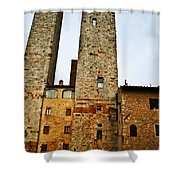 Towers Of San Gimignano Shower Curtain