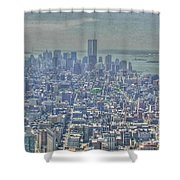 Towers To The Heavens Shower Curtain