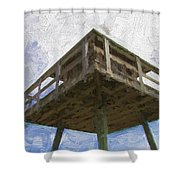 Towerview Shower Curtain