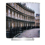 Town Houses Shower Curtain