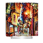 Town In England Shower Curtain