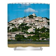 Town On A Hill, D51, Sault, Vaucluse Shower Curtain