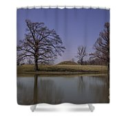 Towosahgy State Historic Site Shower Curtain