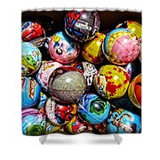 Toy Balls Shower Curtain