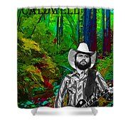Toy Caldwell In The Woods Shower Curtain