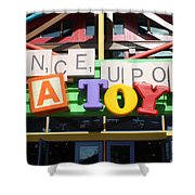 Toy Heaven Shower Curtain