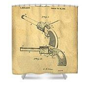 Toy Pistol Circa 1920s Shower Curtain