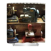 Toy Sewing Machines Shower Curtain