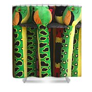 Toy Snakes Shower Curtain