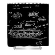 Toy Tank Shower Curtain