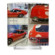 Toyota 2000 Gt Shower Curtain