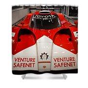 Toyota Gt1 Venture Safenet Shower Curtain