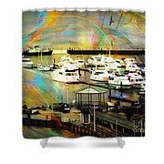 Toys Of The Sea Shower Curtain