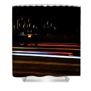Tracers Shower Curtain