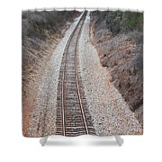 Track 3 Shower Curtain