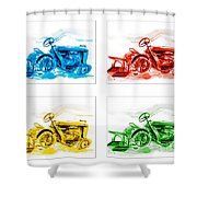 Tractor Mania  Shower Curtain