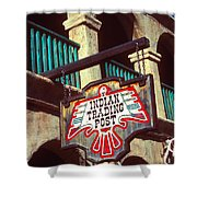 Trading Post Shower Curtain