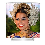 Tradition And Beauty Shower Curtain