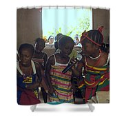 Traditional Dance And Singing Shower Curtain