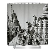 The Towers Shower Curtain