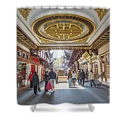Traditional Shopping Area In Shanghai China Shower Curtain