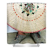 Traditional Woven Shower Curtain