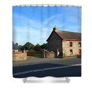 Traditionally Irish Shower Curtain