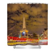 Trafalgar Light Trails Shower Curtain