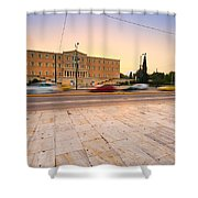 traffic at Syntagma Shower Curtain