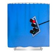 Traffic Light - Featured 3 Shower Curtain