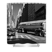 Traffic - New York In Perspective Series Shower Curtain