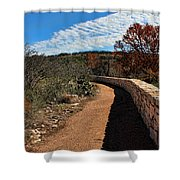 Trail At Reimer's Ranch Shower Curtain