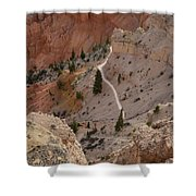 Trail Into The Past Shower Curtain
