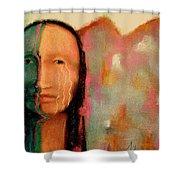 Trail Of Tears Shower Curtain by Johanna Elik