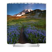 Trail To Majesty Shower Curtain
