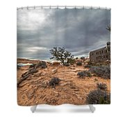 Trail To Mesa Arch Shower Curtain